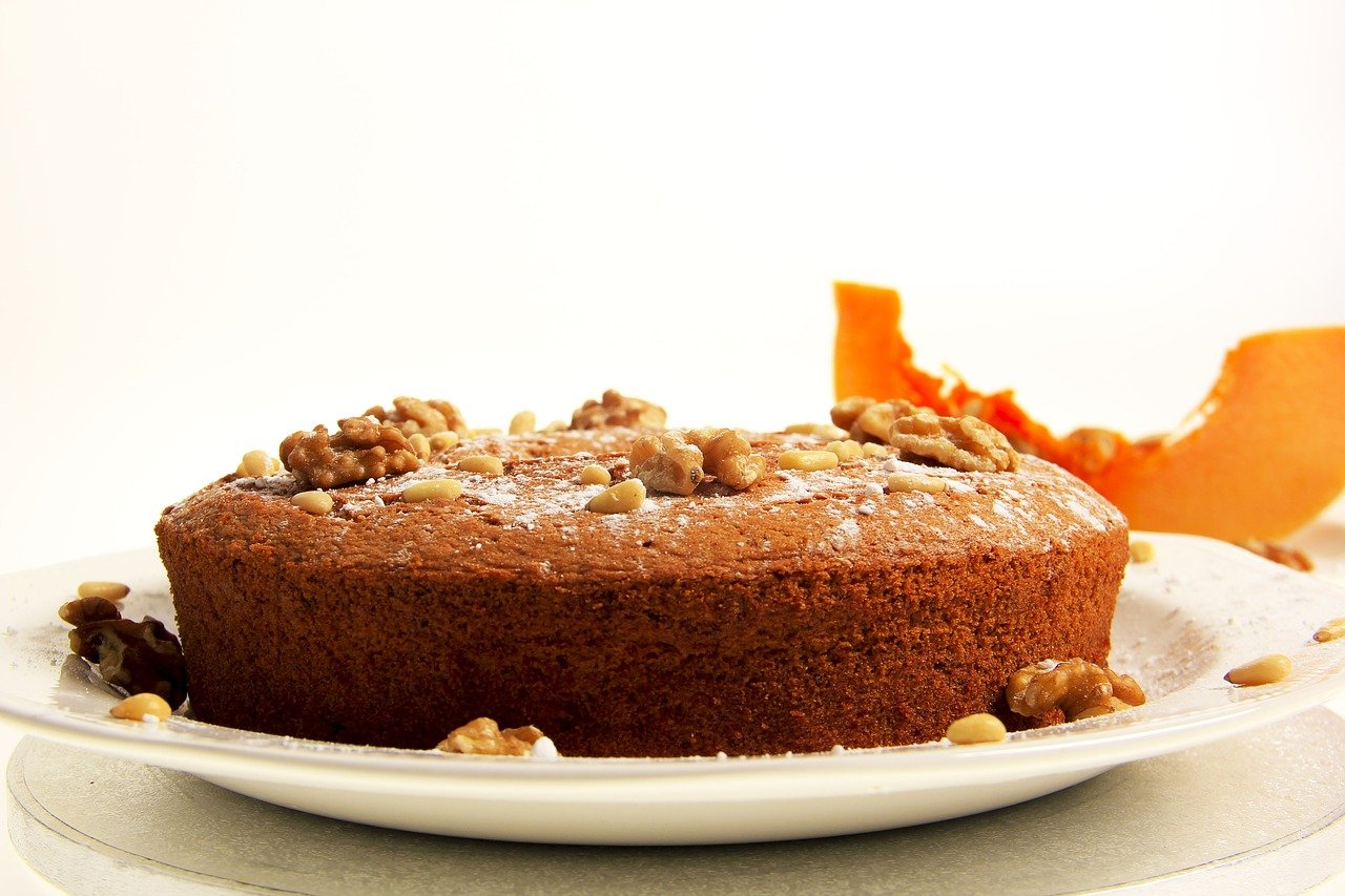 Vegan Pumpkin Pound Cake