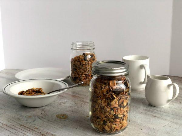 organic muesli granola