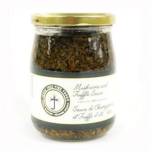 truffle sauce bruschetta